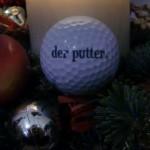 Golf unter dem Weihnachtsbaum